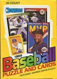 1989 Donruss Baseball Wax Box (36 Sealed Packs) Look for the Ken Griffey Jr. Rookie Card. rookie card picture