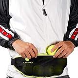 lianth Tennis Ball Band for Holding Tennis Balls Pickleballs Accessories Running Waist Bag for Women Men Kids (L Suit Waist 29.5'-55')