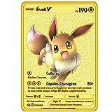 PPCERY Pokemon Cards Metal Collection Regalo Niños Japón...