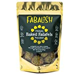 FABALISH Baked Falafel | Vegan, Gluten Free, Organic and Clean Ingredients | Plant-Based Vegetarian Chickpea Balls | Not Box Mix | Premade, Frozen, Ready to Eat Falafel | 10 ounces