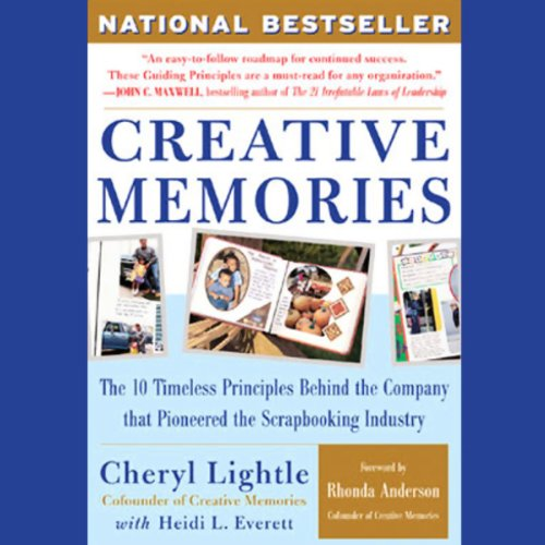 Creative Memories audiobook cover art