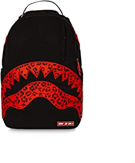 05492c2d51 Sprayground Sac à Dos Red Leopard Shark Black/red