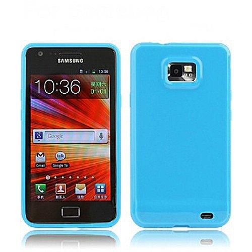 MECAWEB Custodia Cover Guscio Case Mascherina TPU per Samsung Galaxy I9100 Sii S2