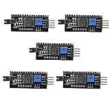 HiLetgo 5pcs 5V 2004 1602 LCD IIC I2C Adapter IIC Serial Interface Adapter for Arduino Robort Parts