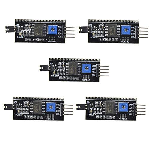 HiLetgo 2004 20X4 1602 LCD Display Serie Adapter 5V IIC I2C TWI SPI für Arduino