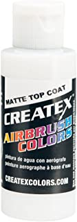 Createx Airbrush Paint, Matte Top Coat, 2 oz (5603-02)