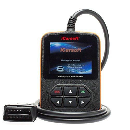 iCarsoft Appareil de Diagnostic Professionnel I909 - pour Mazda et Mitsubischi OBD Canbus