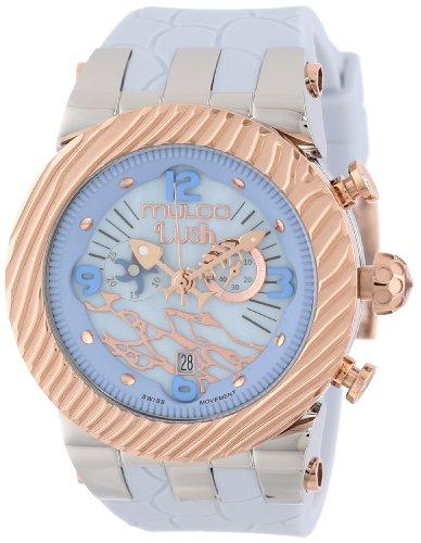 Mulco MW5-2365-413 - Reloj de Pulsera Unisex, Silicona, Color Gris