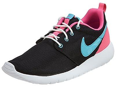 Nike Youth Roshe One (Black/Gamma Blue/Pink Blast)(6.5 M US Big Kid)