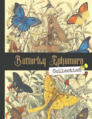 Compare Textbook Prices for Butterfly Ephemera Collection: One-Sided Decorative Paper for Junk Journaling, Scrapbooking, Decoupage, Collages, Origami, Card Making & Mixed Media, ... of Authentic Ephemera 260 + Vintage Images  ISBN 9798526155267 by Paper Publishing, Peter,Ephemera Art, Vintage