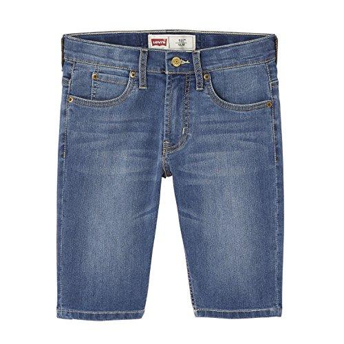 Levis Kids Bermuda 511 Pantaloncini, Blu, 8 Anni Bambino