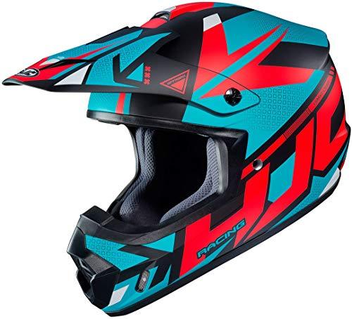 HJC CS-MX II Madax Motocross Helm Schwarz/Grün/Rot XS (53/54)