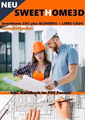 'SWEETHOME3D'  Haus-und Wohnungsplaner 3D Version 6.0 Software Premium