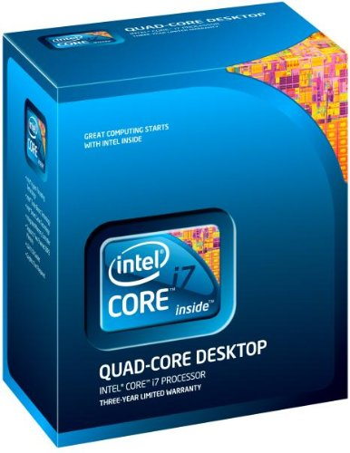 Intel Core i7-870 Prozessor (2,93 GHz, Socket 1156, 8 MB Cache)