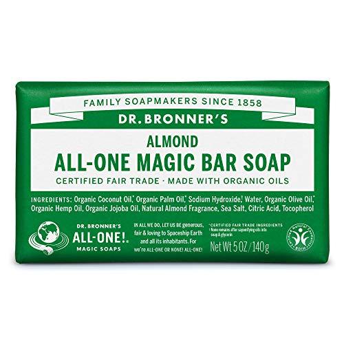 ネイチャーズウェイ ドクターブロナー マジックソープバー magic soap 石鹸 アーモンド 140g ネイチャーズウェイ