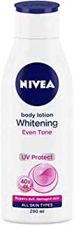 Nivea Body Lotion Whitening Even Tone UV Protect, All Skin Types (200ml)