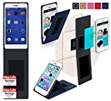 Hülle für Smartisan U1 Tasche Cover Hülle Bumper | Blau | Testsieger