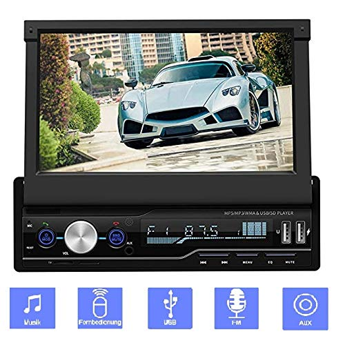 1024 * 600 HD autoradio met Bluetooth, 7