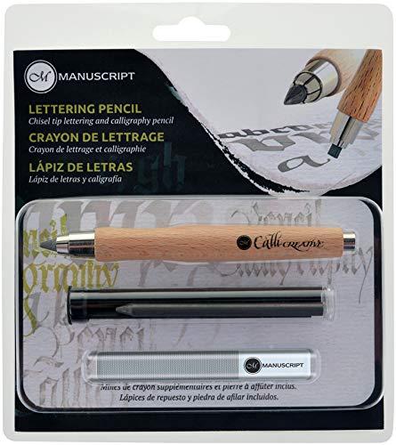 Lowest Prices! Manuscript CalliCreative Lettering Pencil Set 3/Pkg-Natural