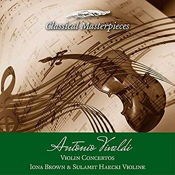 Antonio Vivaldi Violin Concertos Iona Brown & Sulamit Haecki Violine (Classical Masterpieces)