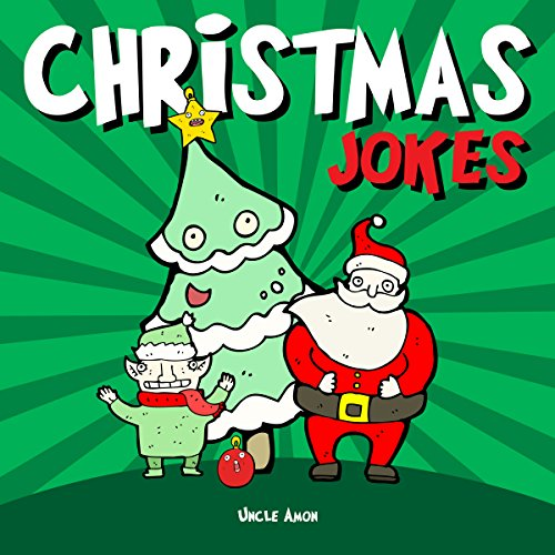 Christmas Jokes: Hilarious Holiday Jokes and Riddles for Kids audiobook cover art