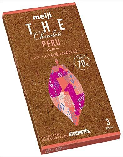 明治 ザ・チョコレートペルーカカオ70 50g ×10箱
