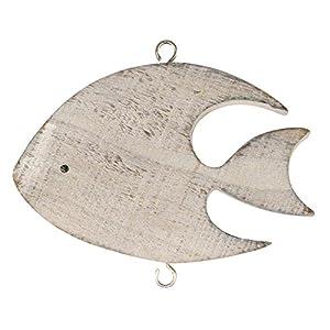 Rayher – 6205700 – Holz-Fisch Luis, 11×7,5 cm