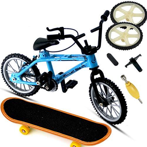 Wr Mini Deporte de la Bici del Dedo de la aleación, diapasón de la Bicicleta, monopatín Creativo del Juego de DIY