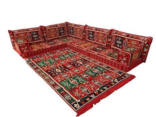 Arabic Corner Sofa Set,Arabic Floor Seating,Arabic Floor Sofa,Arabic Majlis,Arabic Couches,Jalsa,Floor Seating Sofa MA 44