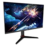 VIOTEK GFT27CXB 27-Inch Gaming Monitor | 240Hz 1080p Full-HD 1ms | Multi-User Profiles, G-Sync-Ready & FreeSync | HDMI DP 3.5mm | Height, Tilt, Swivel, Pivot (VESA)