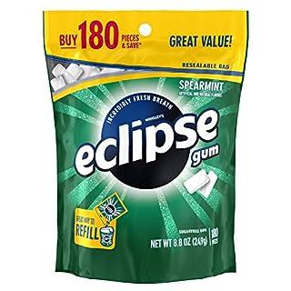 ECLIPSE Spearmint Sugarfree Chewing Gum, 180 piece bag (B0083GJLEO) | Amazon price tracker / tracking, Amazon price history charts, Amazon price watches, Amazon price drop alerts