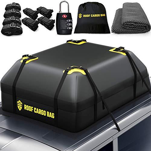Image of Car Top Carrier Roof Bag |...: Bestviewsreviews