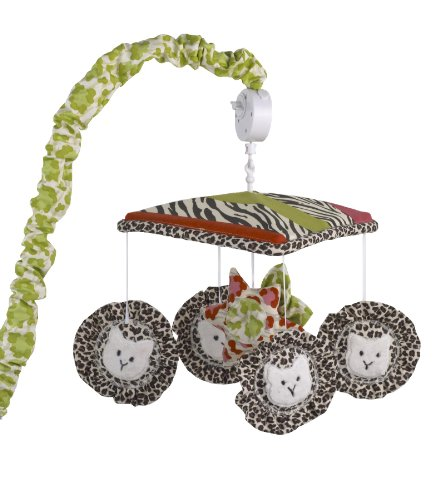 Cotton Tale Designs Musical Mobile, Here Kitty Kitty by Cotton Tale Designs