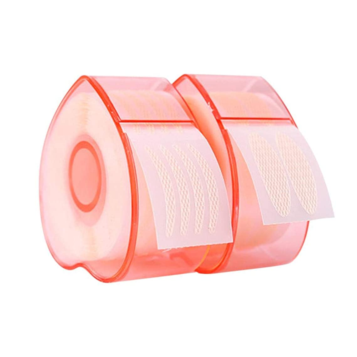 退屈させるトピック発症Licentury 二重まぶたステッカー 二重まぶたテープ 見えない レース テープロール 通気性 防水 ナチュラル 魅力的 2タイプ
