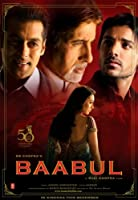 Baabul (2006) (Hindi Comedy Film / Bollywood Movie / Indian Cinema DVD)