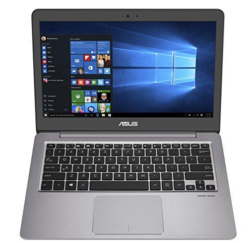 Asus UX310UQ-GL026R Portatile, Display 13.3', Processore Intel Core i5-6200U, RAM 8 GB, SSD da 512 GB, Scheda Video nVidia GT 940MX da 2 GB, Grigio