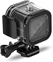 Nechkitter 60m Dive Protective Housing Case for GoPro Hero 5 Session Hero 4 Session Hero Session, High Transmission Waterproof Housing Case