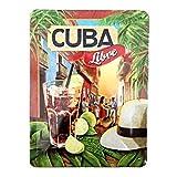 Nostalgic Art Open Bar – Cuba Libre – Geschenk-Idee