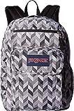 Jansport Unisex Digital Student Backpacks, Black Motif Chevron, One Size