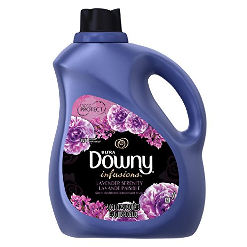 Downy Infusions Lavender Serenity Liquid Fabric Conditioner (Fabric Softener), 103 FL OZ