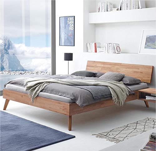 Hasena Fine Line Bett Ancona Kernbuche geölt 160x200 cm