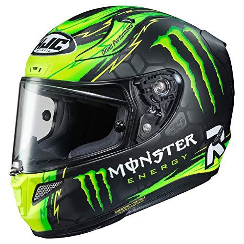 HJC RPHA 11 Pro Helmet - Crutchlow Replica (Large) (Black/Green)