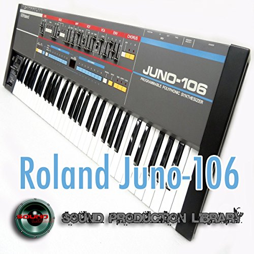For Roland Juno de 106 – The King of Analog Sonido – Unique Original Huge Wave/Contacto Multi-Layer muestras Library on DVD
