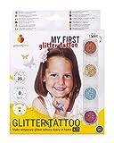 Glitterify Me Mi Primer Tatuaje de Purpurina – Kit de Tatuajes de Purpurina para niñas – Hecho en la UE, Calidad cosmética