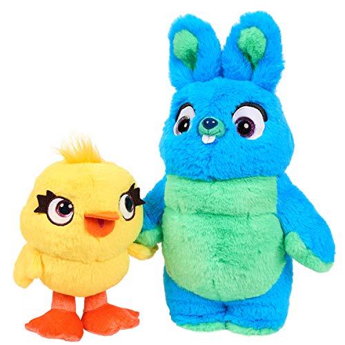 Disney-Pixar's Toy Story 4 – Juego de Peluche perfumado de la Amistad – Ducky & Bunny