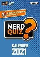 Rocket Beans TV - Nerd Quiz-Kalender 2021 mit Fragen rund um Games, Filme und Popkultur: 365 neue Nerd-Fragen fuer 2021!