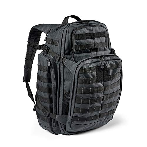 5.11 Tactical Backpack – Rush 72 2.0 – Military Molle Pack, CCW and Laptop Compartment, 55 Liter, Large, Style 56565 – Double Tap