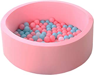 LANGXUN Marca Pink Pit Ball Kiddie Pools, Kids Ball Pit Playpen for Baby Kids Children, Ball Pits Accessories, for Baby or Toddler Ball Pit, Kiddie Pool, Indoor Playpen