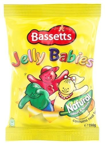Bassetts Jelly Babies 190g Bag x3 by Bassett's