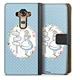 Étui Compatible avec LG G4 Étui Folio Étui magnétique Produit sous Licence Officielle Disney...